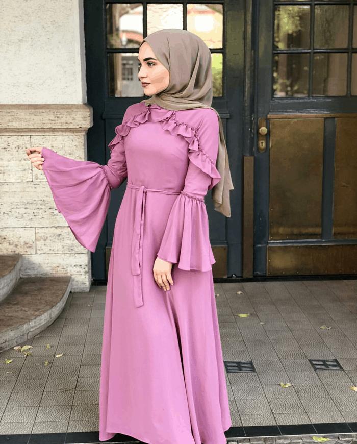 فستان-مطبع-للمحجبات