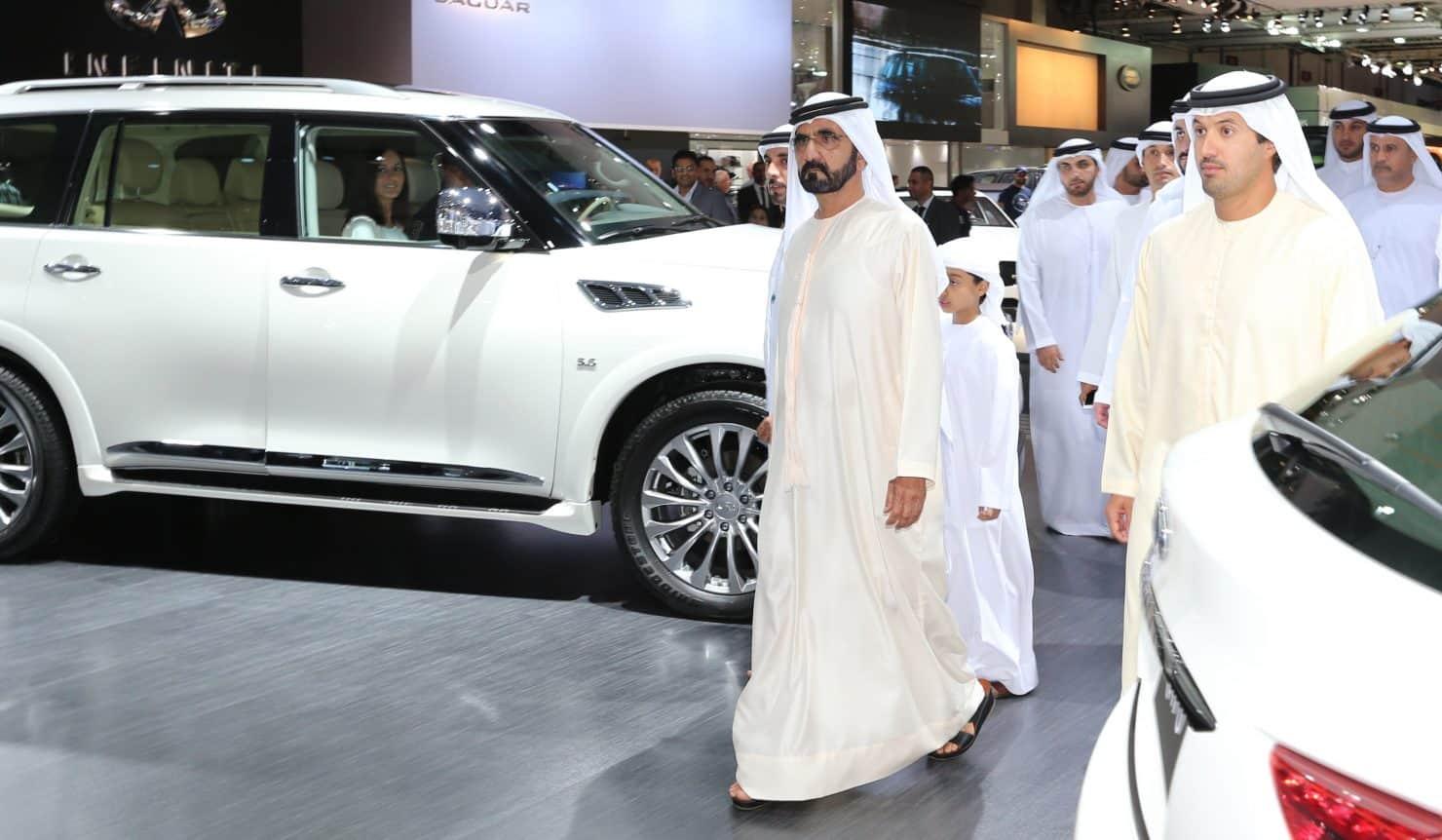 معرض دبي الدولي للسيارات