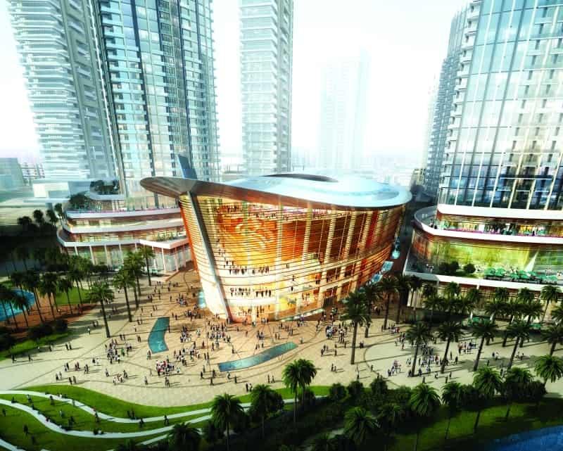 دبي أوبرا تحفة معمارية للفن والثقافة