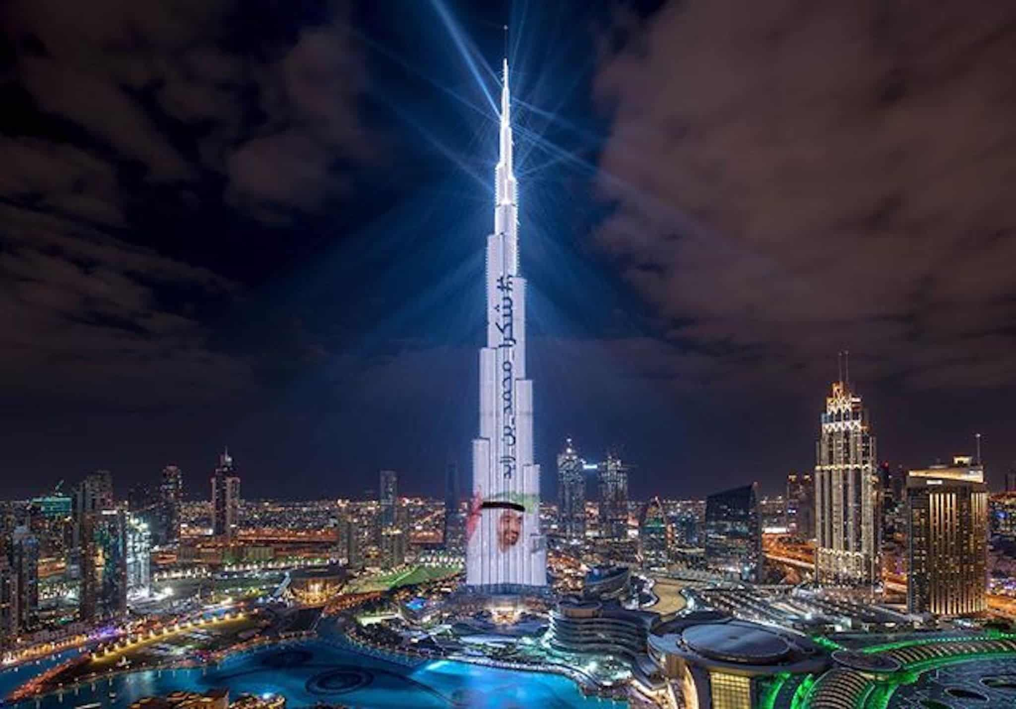 مشاهدة الألعاب النارية في دبي