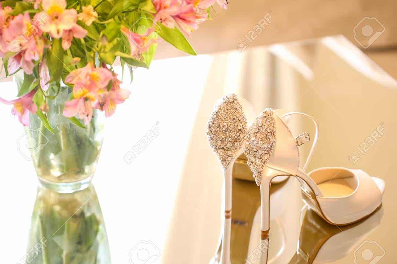 أحدث صيحات أحذية الزفاف لصيف 2019