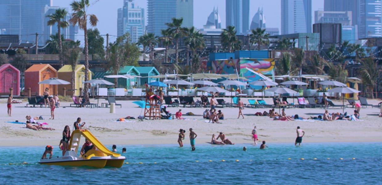 كيفية الوصول لـشاطئ لا مير في دبي