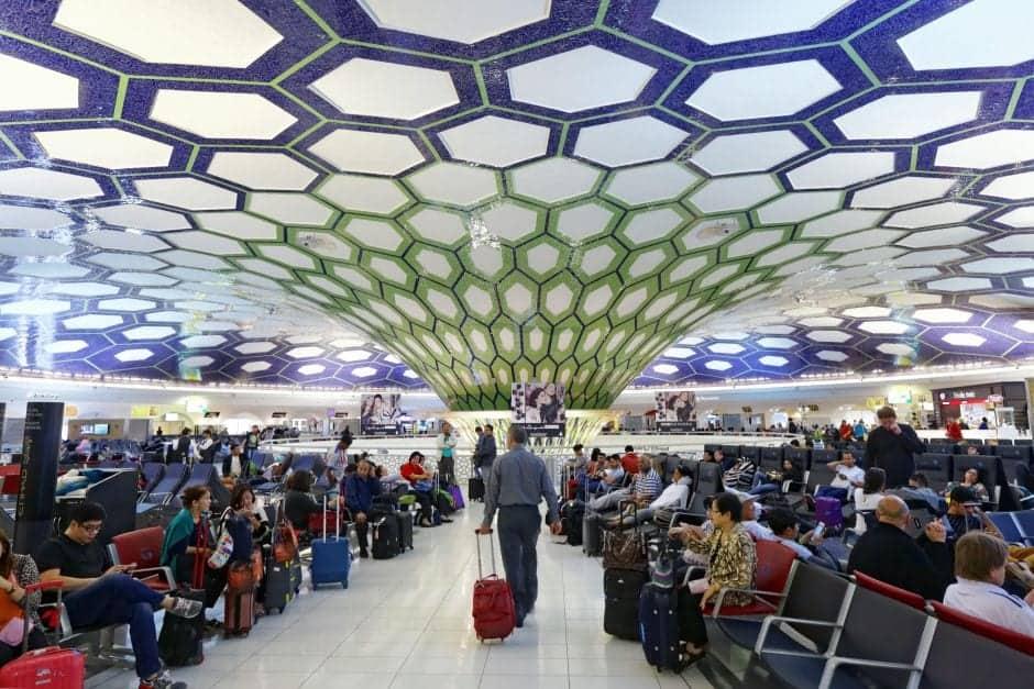 حدائق زين في مطار دبي
