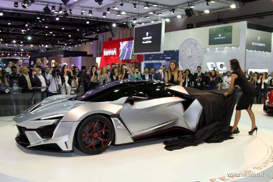 معرض دبي الدولي للسيارات فرصة هامة لرواد الأعمال