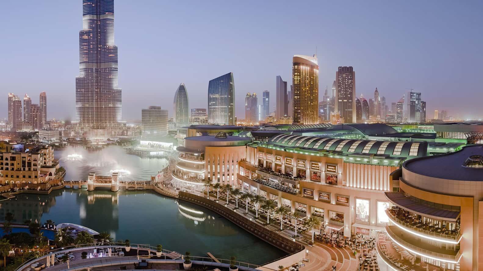 أنشطة سياحية في دبي : دبي مول