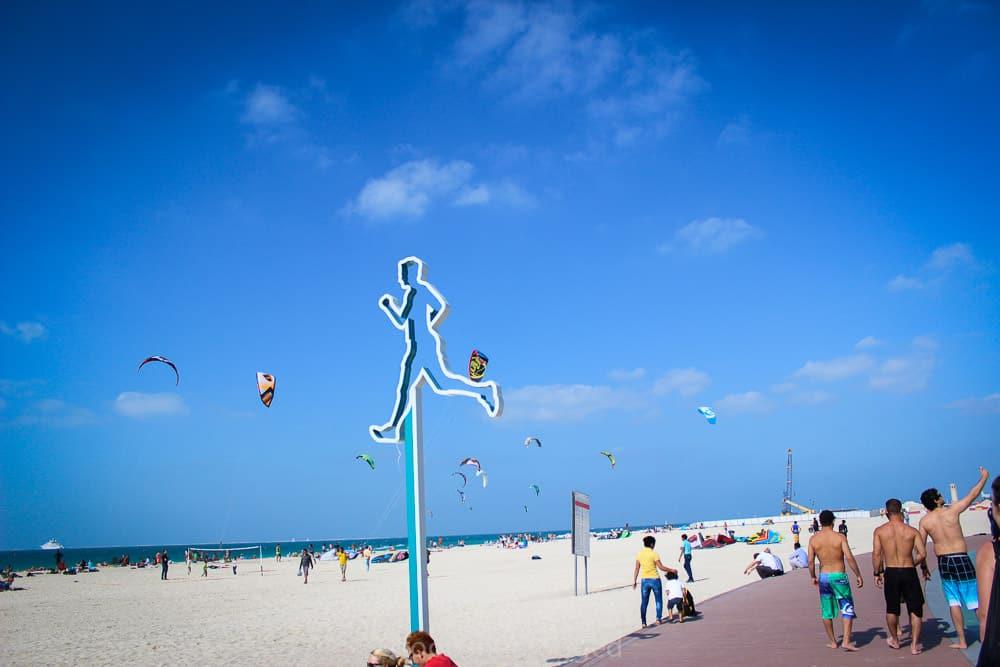 أفضل الشواطئ في دبي : ذا بيتش