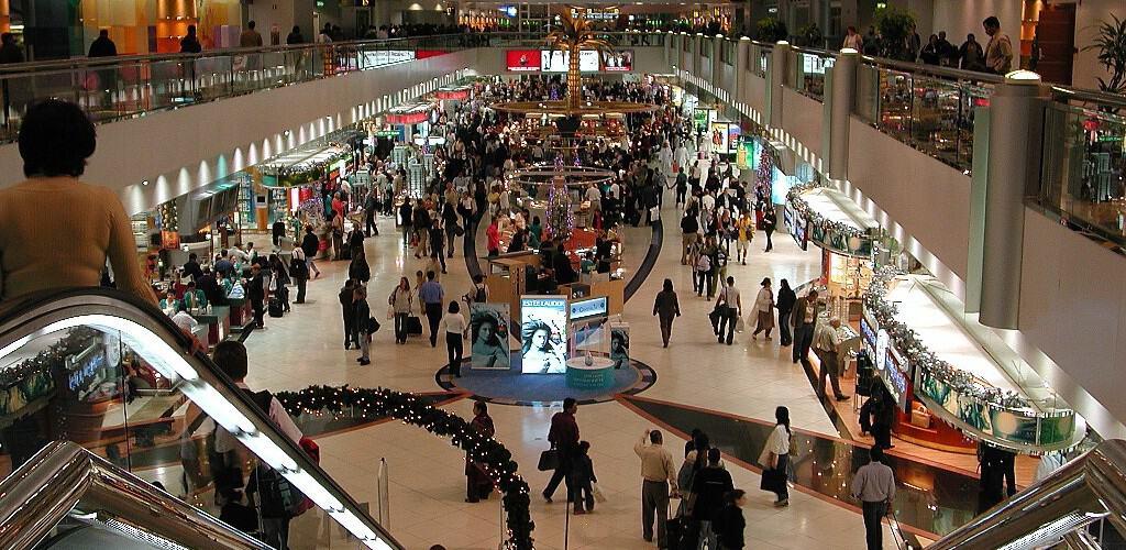 خدمات مميزة في المطار الدولي بدبي