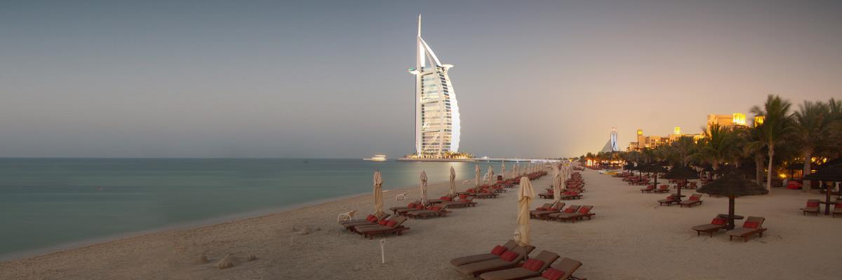أفضل الشواطئ في دبي :لا مير