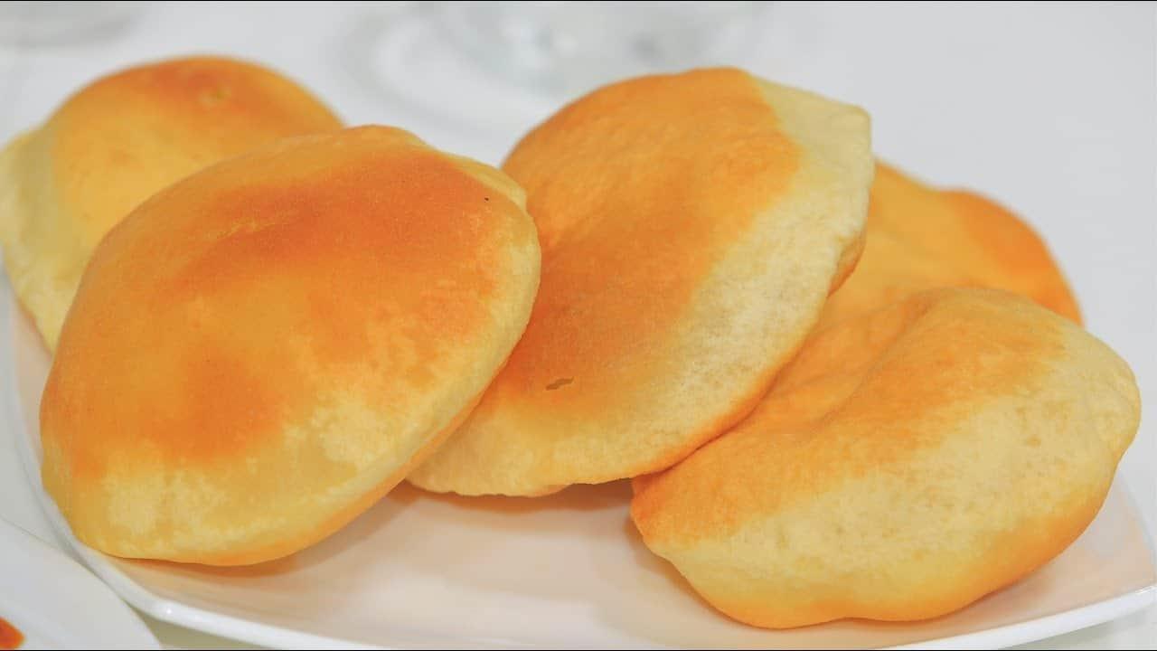 كيفية تجهيز خبز البوري الهندي