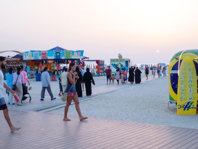 شاطئ بمواصفات عالمية