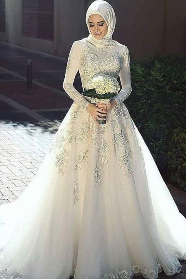 صيحات الموضة لفساتين الزفاف 2020