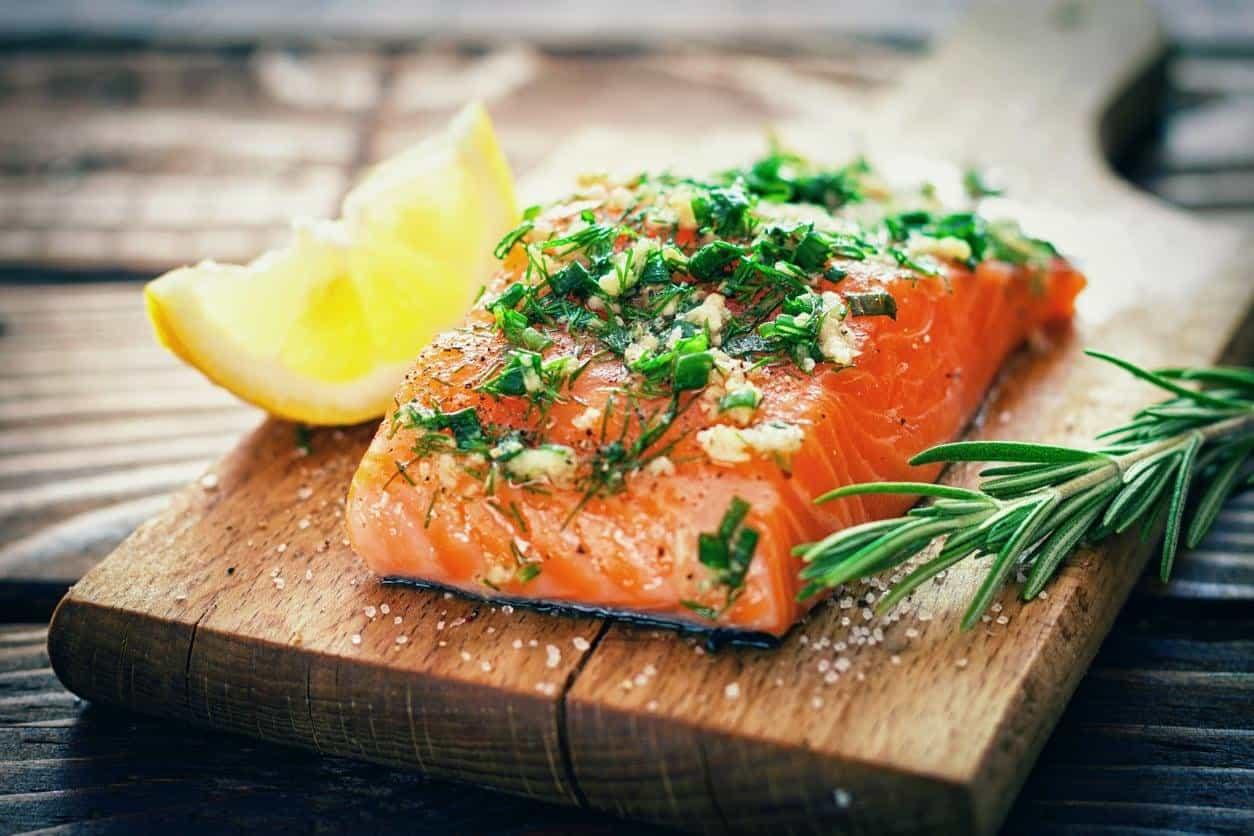 ريجيم سمك السلمون