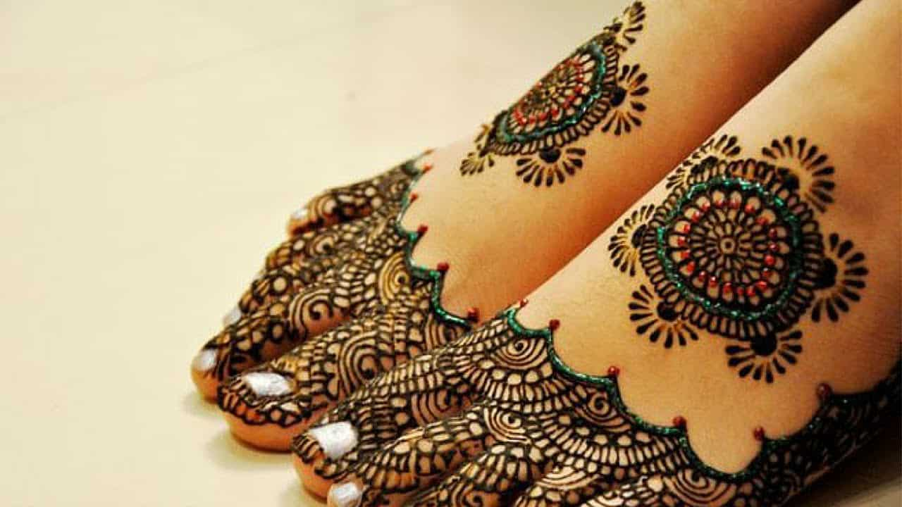 Henna Zone نقوش حناء باكستانية 10