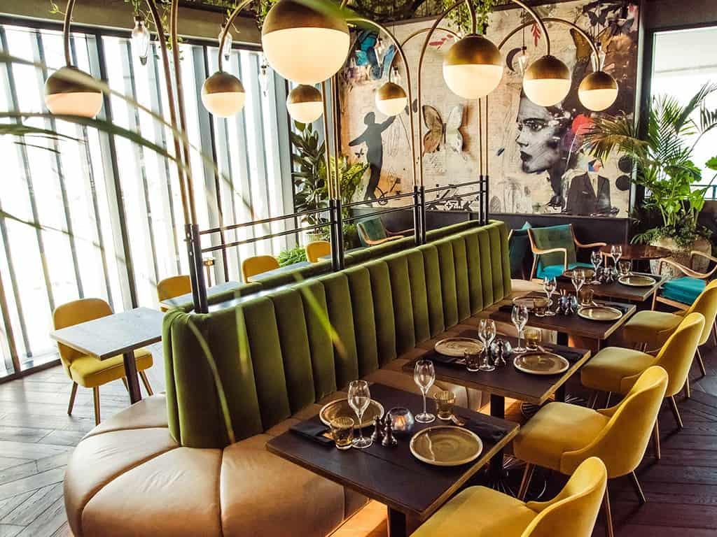 مطاعم جديدة في دبي : ذا لندن بروجكت
