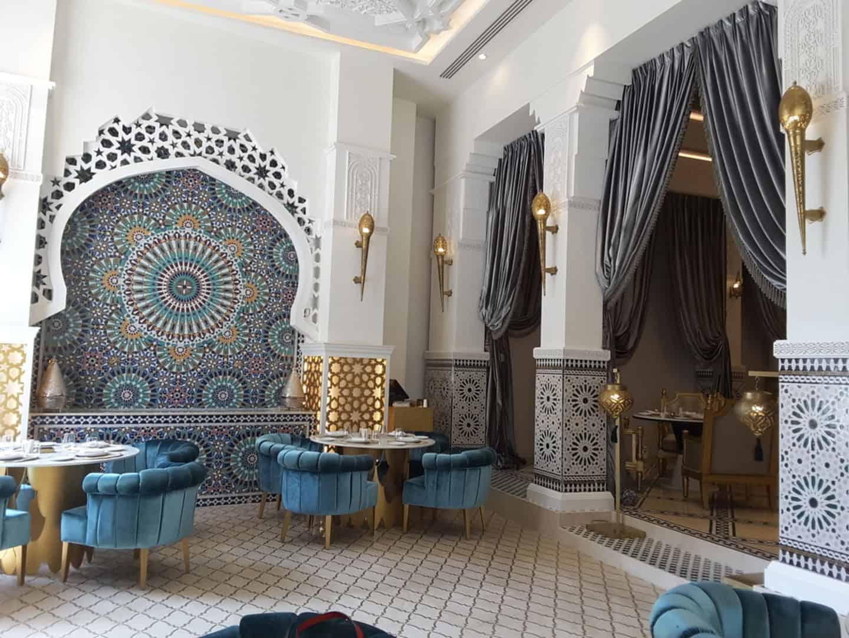 مطعم باب المنصور دبي
