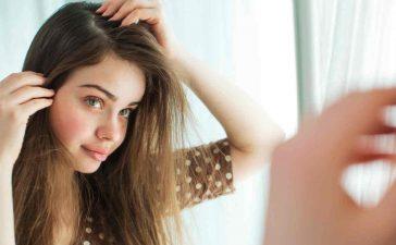 علاج تزييت الشعر الدهني