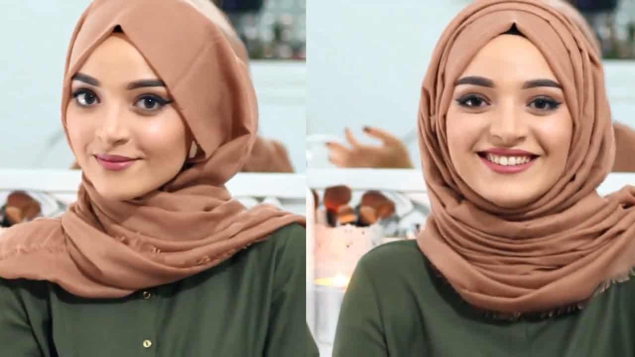 لفات حجاب أنيقة وبسيطة للمناسبات