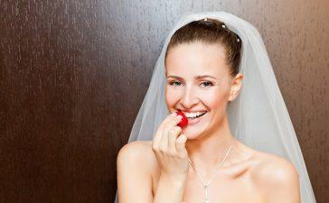 مأكولات يجب تجنبها قبل الزفاف وأثناءه!