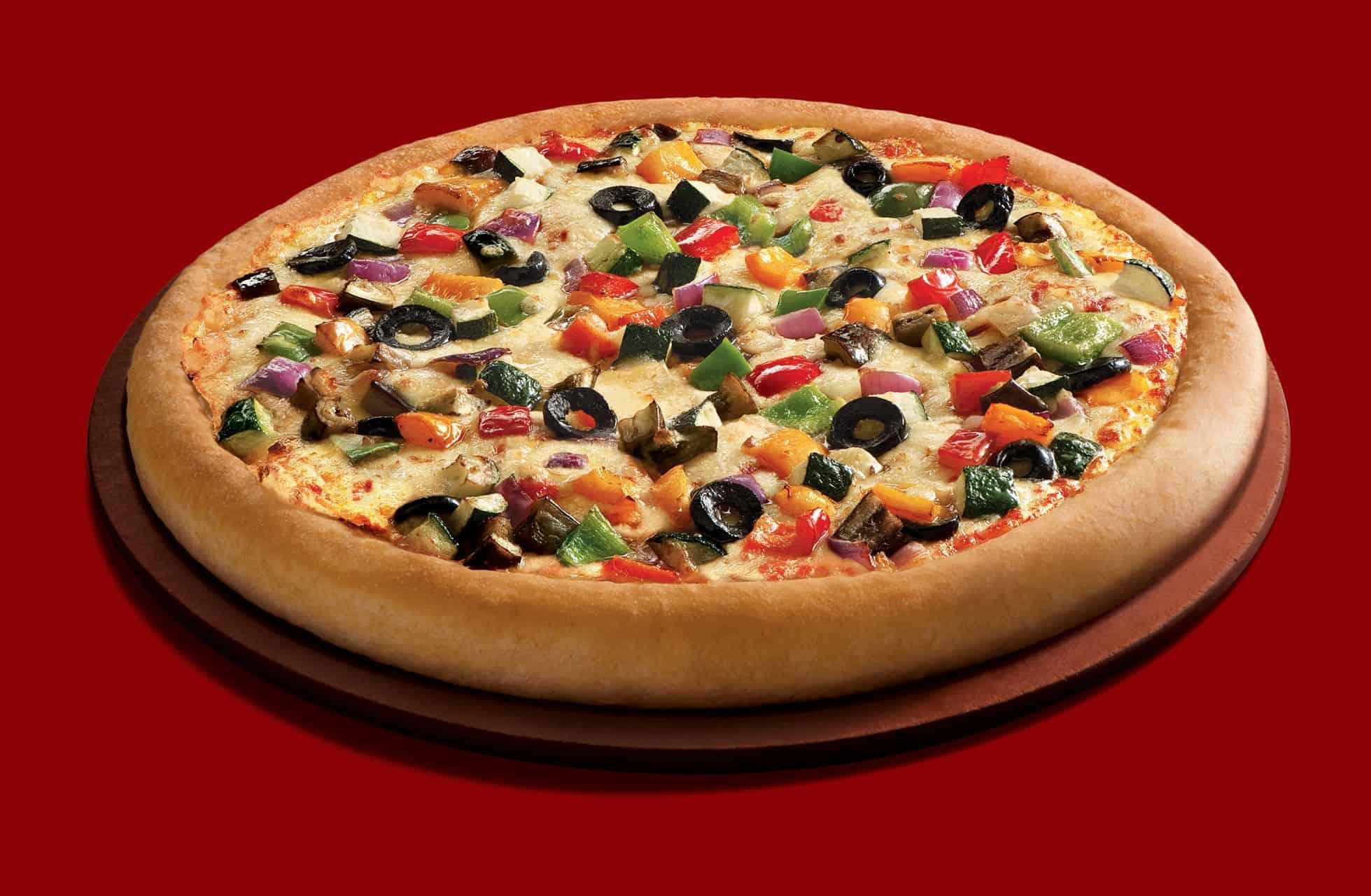 طريقة تحضير بيتزا مزخرفة