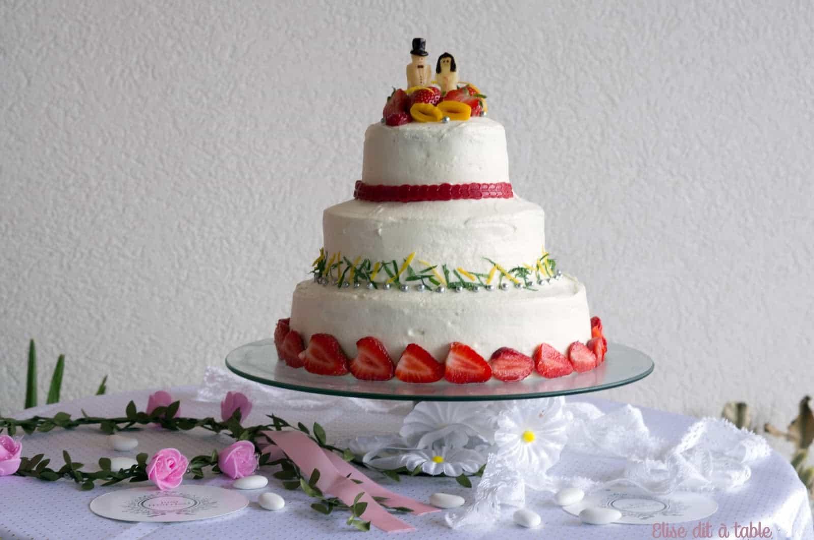 أجمل تصاميم كيك الزفاف