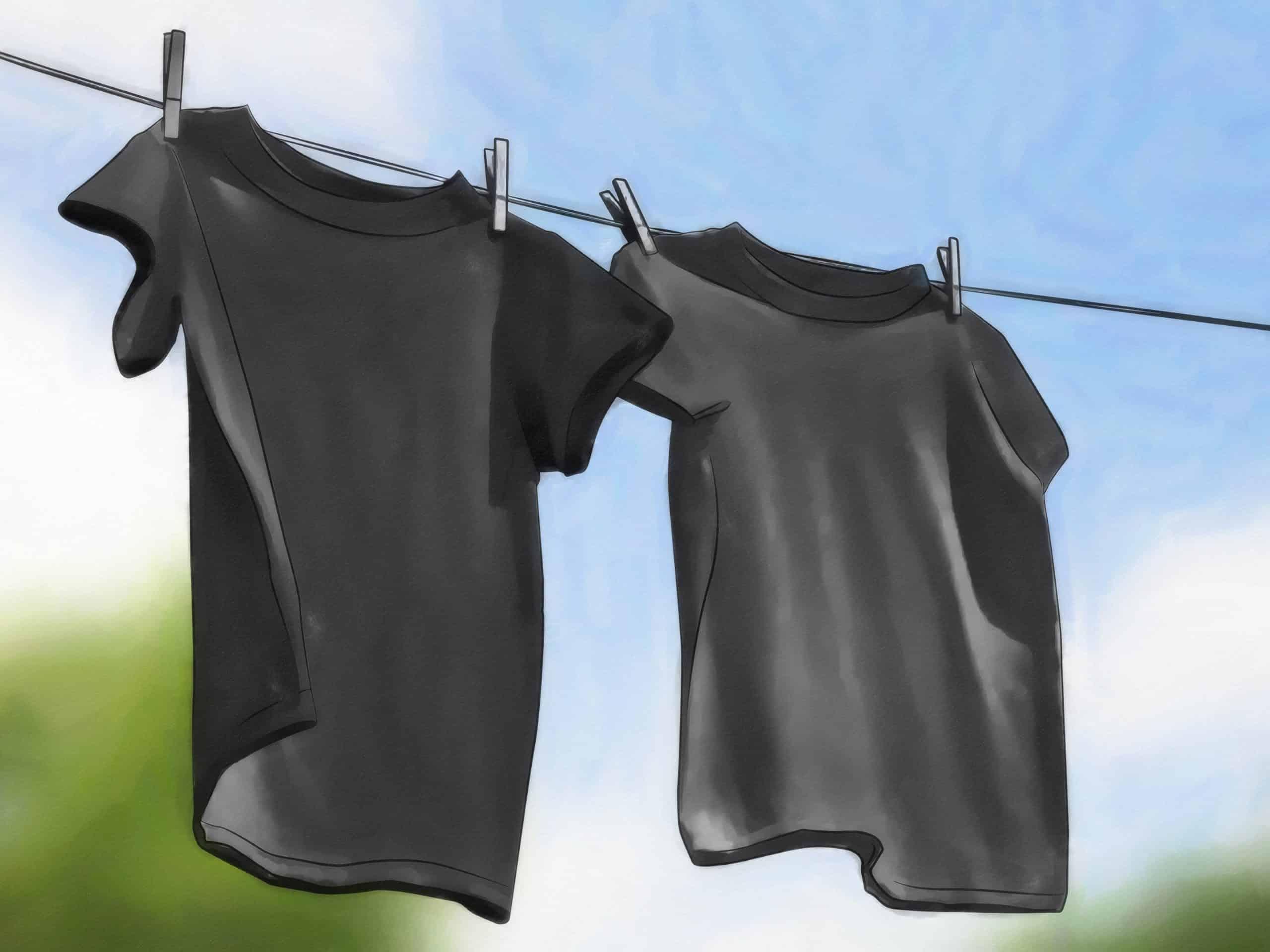 نصائح لغسل الملابس السوداء مع الحفاظ على رونقها
