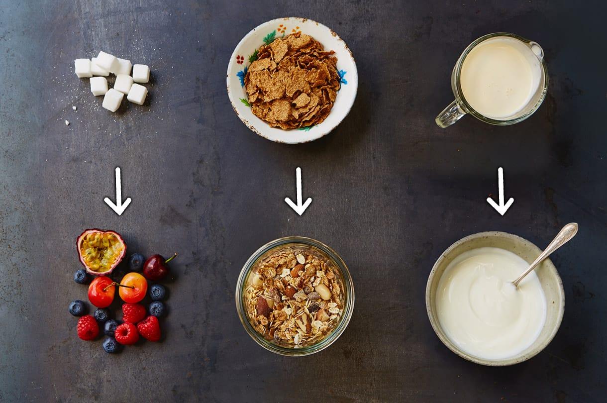 بدائل صحية للأغذية والمشروبات
