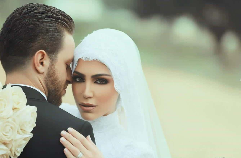 لفات طرح عصرية للعروس المحجبة
