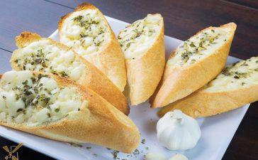 كيفية إعداد خبز الثوم بالجبنة