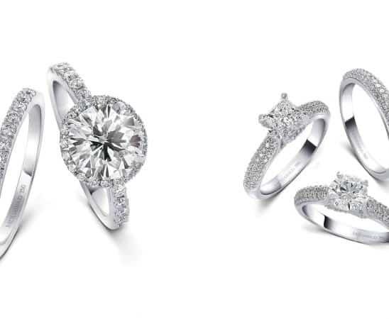 مجوهرات الماس لإطلالة زفاف تخطف الأبصار شتاء 2020