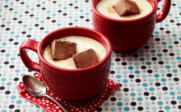 كيفية تجهيز مشروب شوكولاته بيضاء