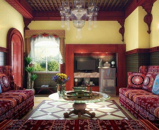 الديكور المغربي أفضل صيحات الديكور