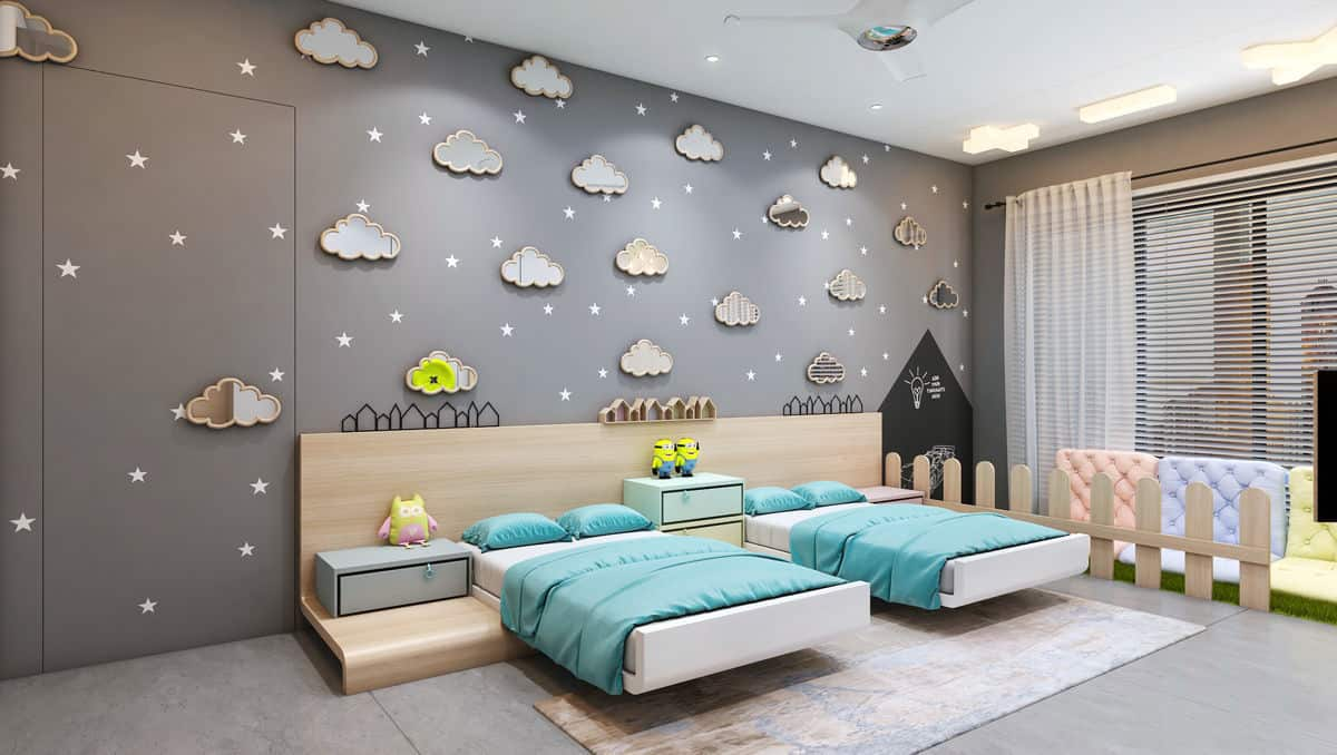 نصائح ديكور لتجعلي غرفة طفلك بإطلالة متميزة
