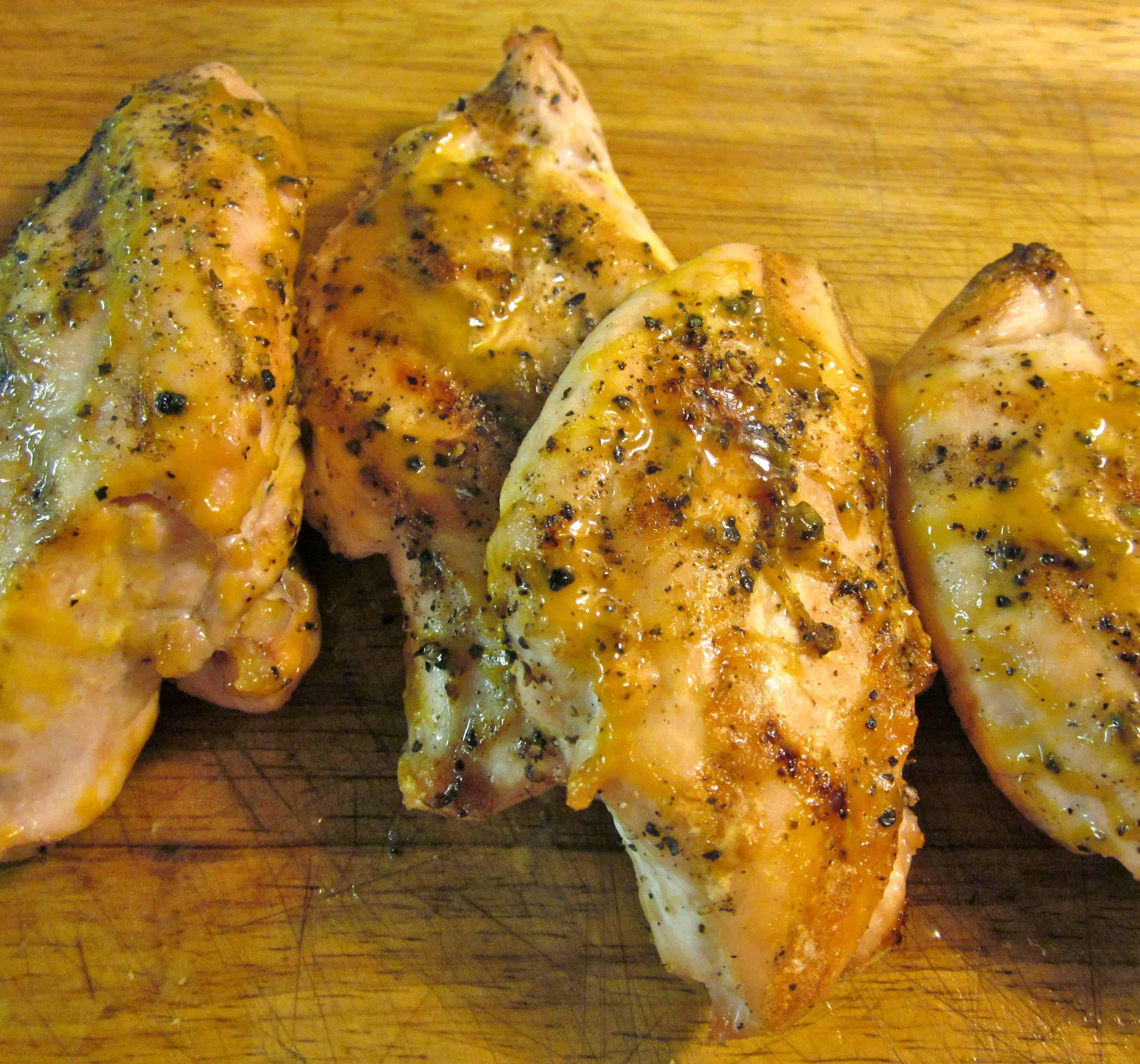 كيفية تجهيز دجاج مشوي بصلصة الخردل