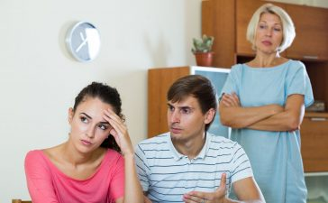 التعامل مع أهل الزوج