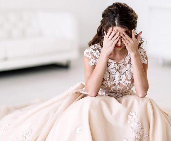 التوتر قبل الزفاف