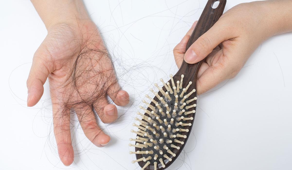 الشعر بعد عملية التكميم