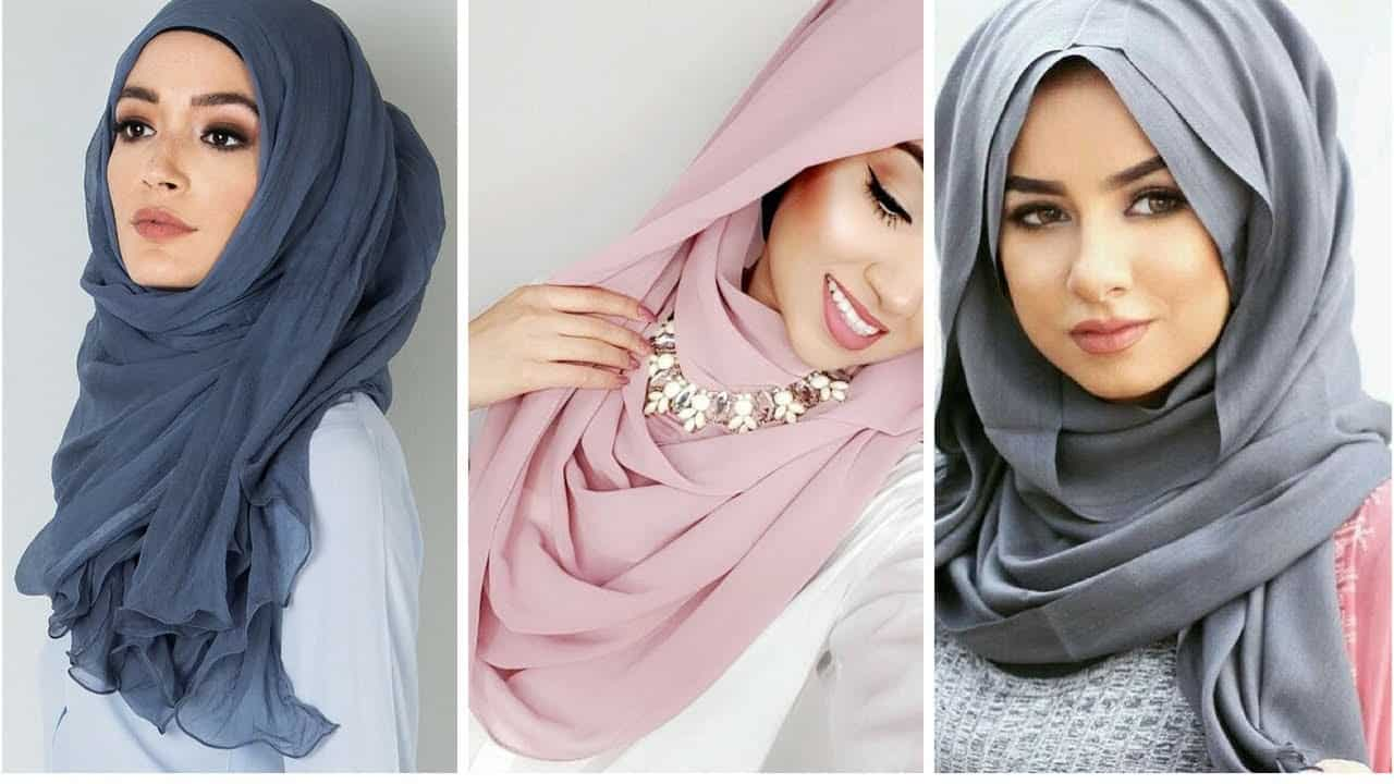 لفات حجاب أنيقة من وحي الفاشينيستاز العرب 2020 بالصور