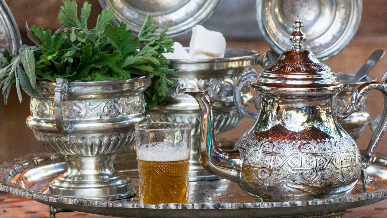 كيفية إعداد الشاي المغربي