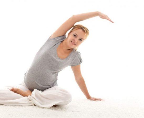 تمارين رياضية للحامل في الحجر الصحي