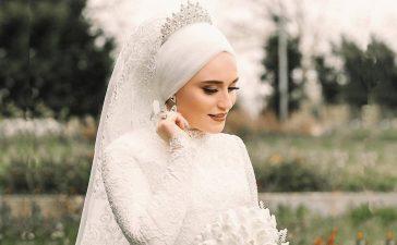 العروس المحجبة