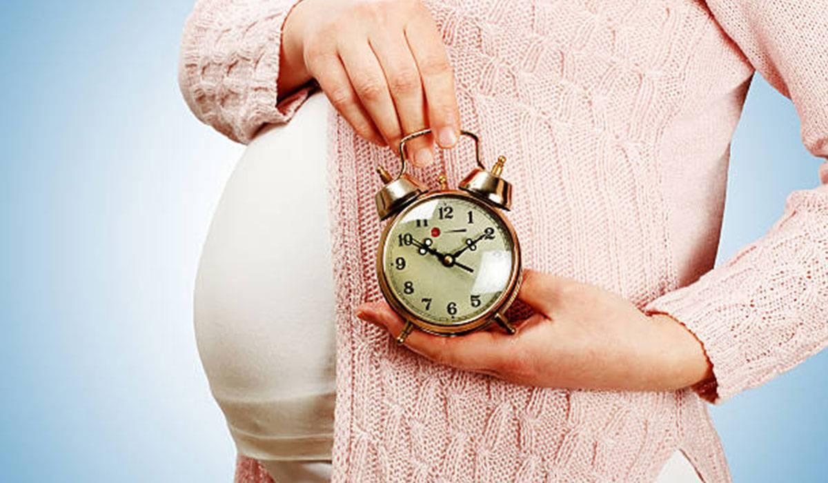 تأخر الولادة