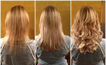 تطويل الشعر في أسبوع