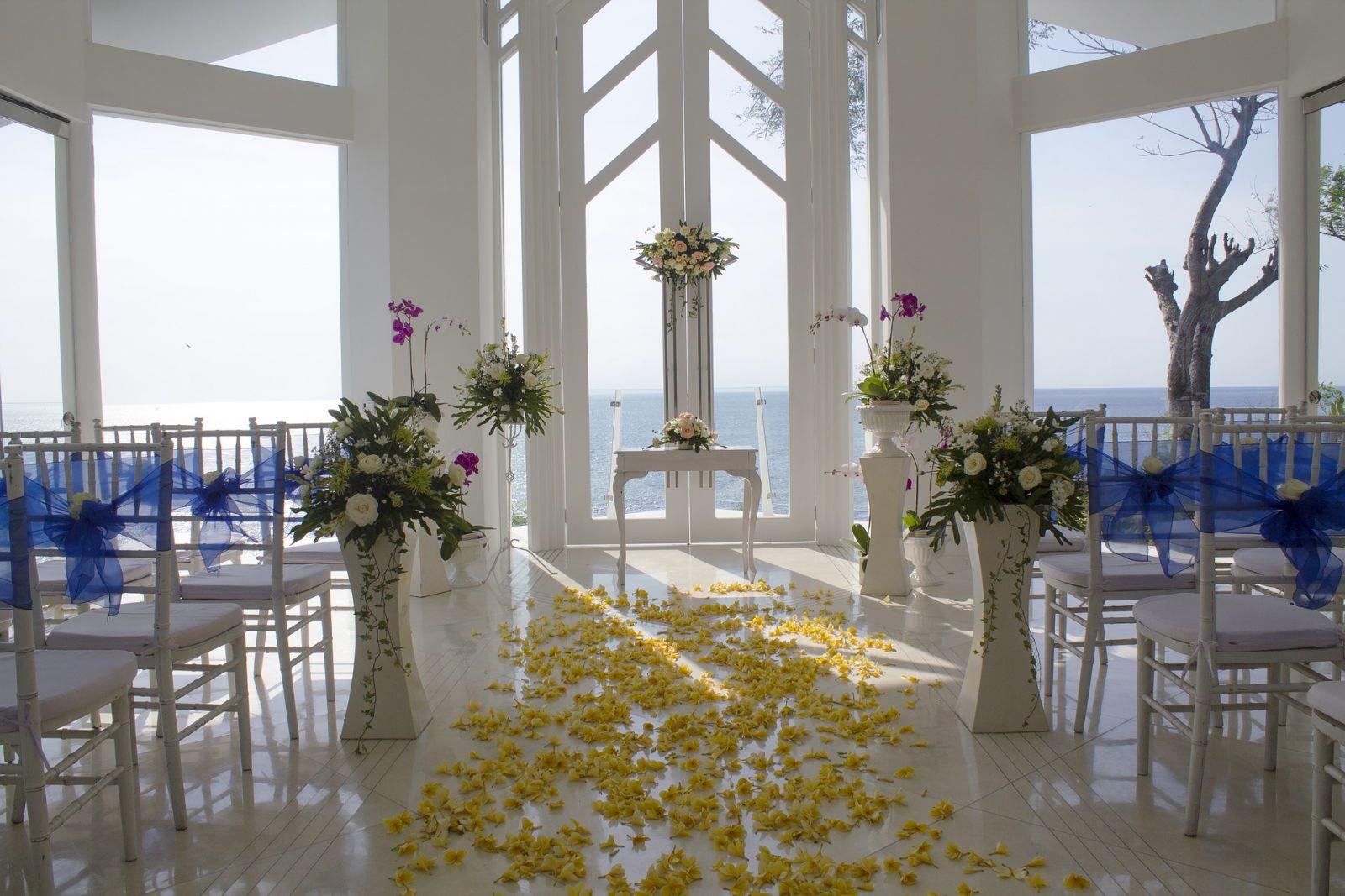 قائمة بأبرز أخطاء ديكور الزفاف التي عليك تجنبها