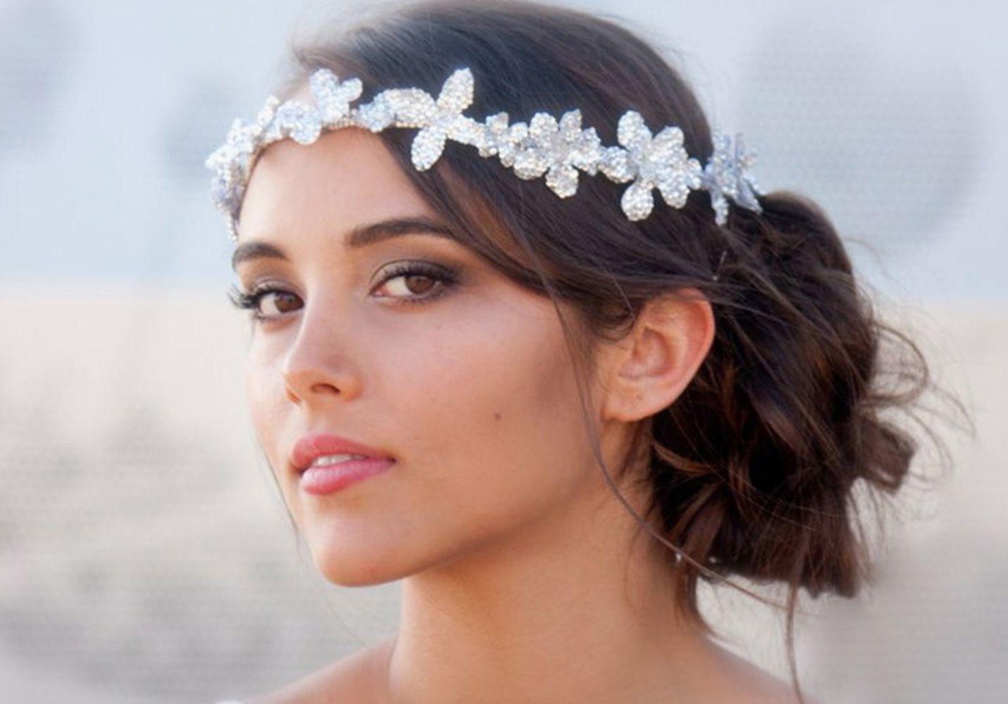 اكسسوارات شعر العروس