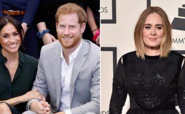 أديل تكشف عن علاقتها بالثنائي الملكي السابق ميغان وهاري