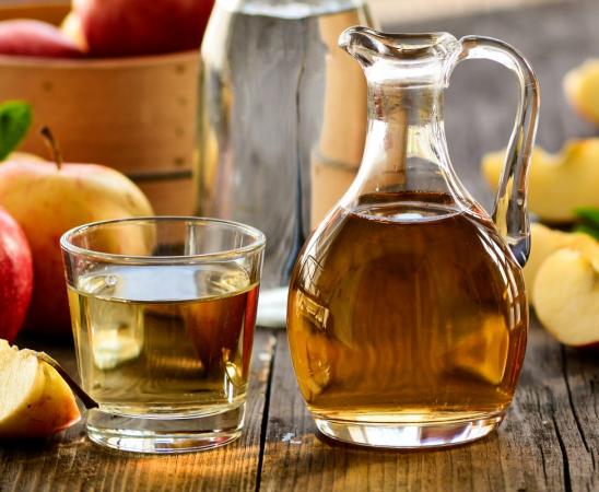 الإفراط في تناول خل التفاح