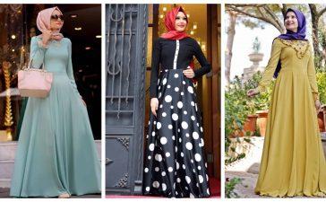طرق مختلفة لتنسيق الفستان الطويل بكل أناقة