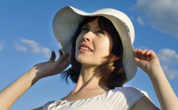 لحمايةالبشرة من أشعة الشمس