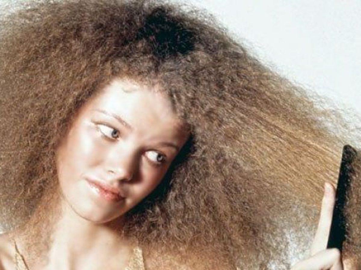 الشعر الخشن