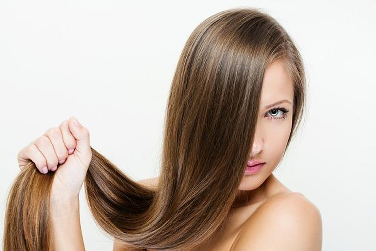 أطراف الشعر المحروق